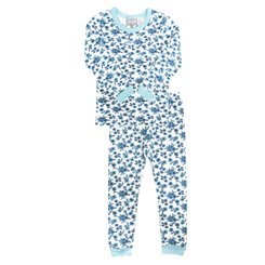 Coccoli Blue Flowers Pyjamas