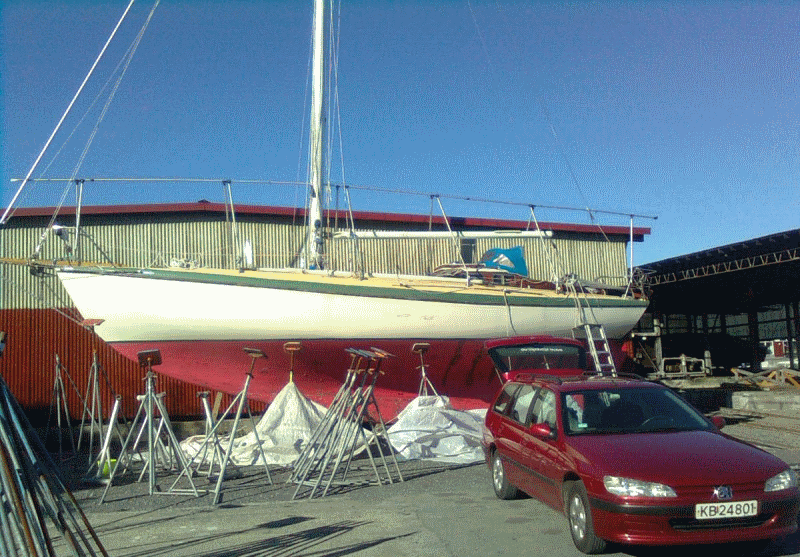 Laurin 38 Restoration in Norway - Classic Boat Supplies