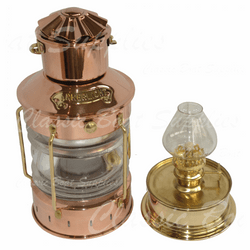 Copper Oil Lantern - Anchor