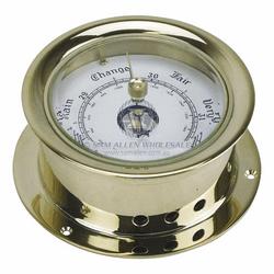 Brass Barometer