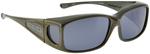 Jonathan Paul® Fitovers Eyewear Small Razor in Gun-Metal & Gray RZ005