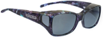 Jonathan Paul® Fitovers Eyewear Medium Dahlia in Mother-Pearl & Gray DL002