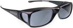 Jonathan Paul® Fitovers Eyewear Large Aria in Midnite-Oil & Gray AA001