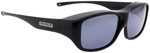 Jonathan Paul® Fitovers Eyewear Large Quamby in Eternal-Black & Gray QL001