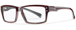 Smith Optics Designer Eyeglasses Wainwright in Oxblood 55mm :: Custom Left & Right Lens