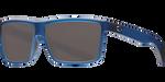 Costa Del Mar Polarized Rinconcito Sunglasses Matte Atlantic Blue Frame Gray 580P Lens