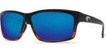 Costa Del Mar Cut Polarized Sunglasses in Coconut Fade with Blue Mirror 580G Lens