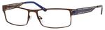 Dale Earnhardt, Jr Eyeglasses 6798 in Brown Frames/Navy 60 mm RX SV