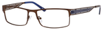 Dale Earnhardt, Jr Eyeglasses 6798 in Brown Frames/Navy 60 mm Progressive