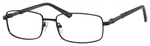 Dale Earnhardt, Jr Designer Eyeglasses 6813 in Satin Black 54mm Bi-Focal