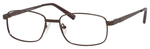Dale Earnhardt, Jr Designer Eyeglasses 6814 in Satin Brown 54mm Bi-Focal