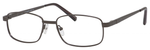 Dale Earnhardt, Jr Designer Eyeglasses 6814 in Satin Gunmetal 54mm Bi-Focal