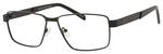 Dale Earnhardt, Jr Designer Eyeglasses-Dale Jr 6816 in Satin Black 60mm RX SV