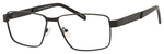 Dale Earnhardt, Jr Designer Eyeglasses-Dale Jr 6816 in Satin Black 60mm Bi-Focal