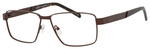 Dale Earnhardt, Jr Designer Eyeglasses 6816-Dale Jr in Satin Brown 60 mm Progressive