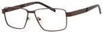 Dale Earnhardt, Jr Designer Eyeglasses 6816-Dale Jr in Satin Brown Frames 60 mm