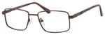 Dale Earnhardt, Jr Designer Eyeglasses 6817 in Satin Brown 53mm RX SV