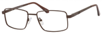 Dale Earnhardt, Jr Designer Eyeglasses 6817 in Satin Brown 53mm Bi-Focal