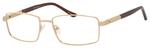 Dale Earnhardt, Jr Designer Eyeglasses-Dale Jr 6818 in Gold 57mm RX SV
