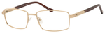 Dale Earnhardt, Jr Designer Eyeglasses-Dale Jr 6818 in Gold 57mm Bi-Focal