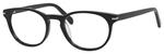 Esquire Designer Unisex Oval Frame Eyeglasses EQ1510 in Shiny Black-50 mm Progressive