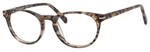 Esquire Designer Unisex Oval Frame Eyeglasses EQ1510 in Olive Amber-50 mm RX SV