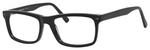 Esquire Designer Mens EQ1548 Reading Eyeglasses in Shiny Black 55 mm