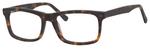Esquire Designer Mens EQ1548 Reading Eyeglasses in Matte Tortoise 55 mm Custom Lens