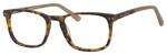 Esquire Unisex EQ1556 Oval Eyeglasses in Antique Tortoise Marble 51 mm Custom Lens
