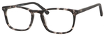 Esquire Unisex EQ1556 Oval Reading Eyeglasses in Black Grey Marble 51 mm Custom Lens