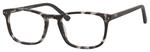 Esquire Unisex EQ1556 Oval Reading Eyeglasses in Black Grey Marble 51 mm Bi-Focal