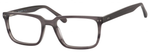 Esquire Men's EQ1557 Rectangular Frame Eyeglasses in Black/Grey 53mm Progressive