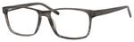 Esquire EQ1566 Mens Rectangle Frame Eyeglasses in Grey Amber 57 mm Bi-Focal