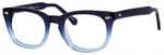 Ernest Hemingway H4668 Unisex Round Eyeglasses in Blue Fade 48 mm