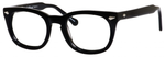 Ernest Hemingway H4668 Unisex Round Eyeglasses in Shiny Black 48 mm