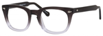 Ernest Hemingway H4668 Unisex Round Eyeglasses in Dark Grey Fade 48 mm