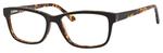 Hemingway H4675 Unisex Rectangular Eyeglasses in Black/Tortoise 52 mm RX SV