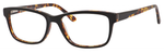 Ernest Hemingway H4675 Unisex Rectangular Eyeglasses in Black/Tortoise 52 mm