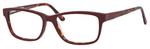 Hemingway H4675 Unisex Rectangular Eyeglasses in Burgundy/Tortoise 52 mm RX SV