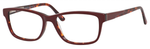 Ernest Hemingway H4675 Unisex Rectangular Eyeglasses in Burgundy/Tortoise 52 mm