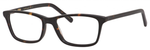 Ernest Hemingway H4683 Unisex Rectangular Eyeglasses in Matte Tortoise 52 mm