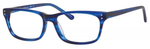 Ernest Hemingway H4684 Unisex Oval Eyeglasses in Cobalt Blue 53 mm Custom Lens