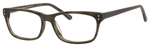 Ernest Hemingway H4684 Unisex Oval Eyeglasses in Olive Green 53 mm Progressive