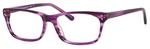 Ernest Hemingway H4684 Unisex Oval Reading Eyeglasses Purple 53 mm Bi-Focal