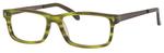 Ernest Hemingway H4690 Unisex Reading Eyeglasses in Satin Jade/Green 54 mm
