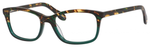 Ernest Hemingway H4694 Unisex Eyeglasses in Tortoise/Emerald Green 53 mm Custom Lens