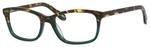 Ernest Hemingway H4694 Unisex Eyeglasses in Tortoise/Emerald Green 54 mm