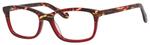 Ernest Hemingway H4694 Unisex Eyeglasses in Tortoise/Burgundy Red 53 mm