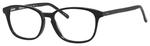 Ernest Hemingway H4698 Unisex Oval Eyeglasses in Shiny Black 52 mm RX SV