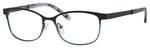 Ernest Hemingway H4686 Semi-Rimless Eyeglasses in Black/Blue 51 mm Custom Lens